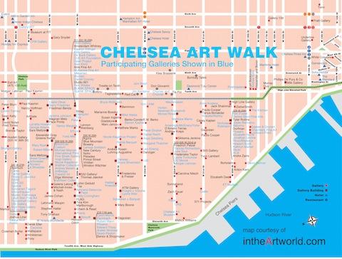 Chelsea galleries nyc